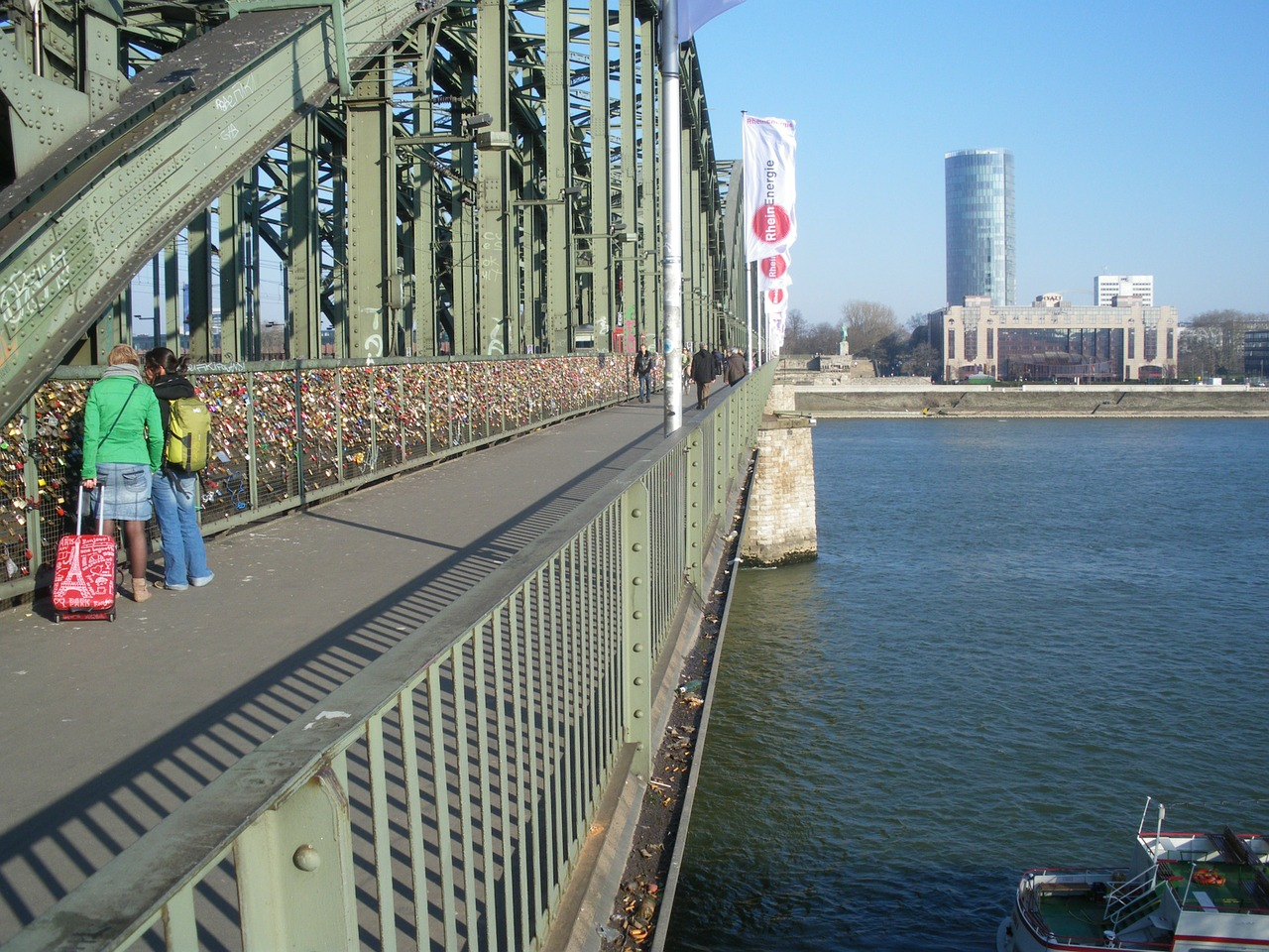 bridge he loved castles cologne free photo