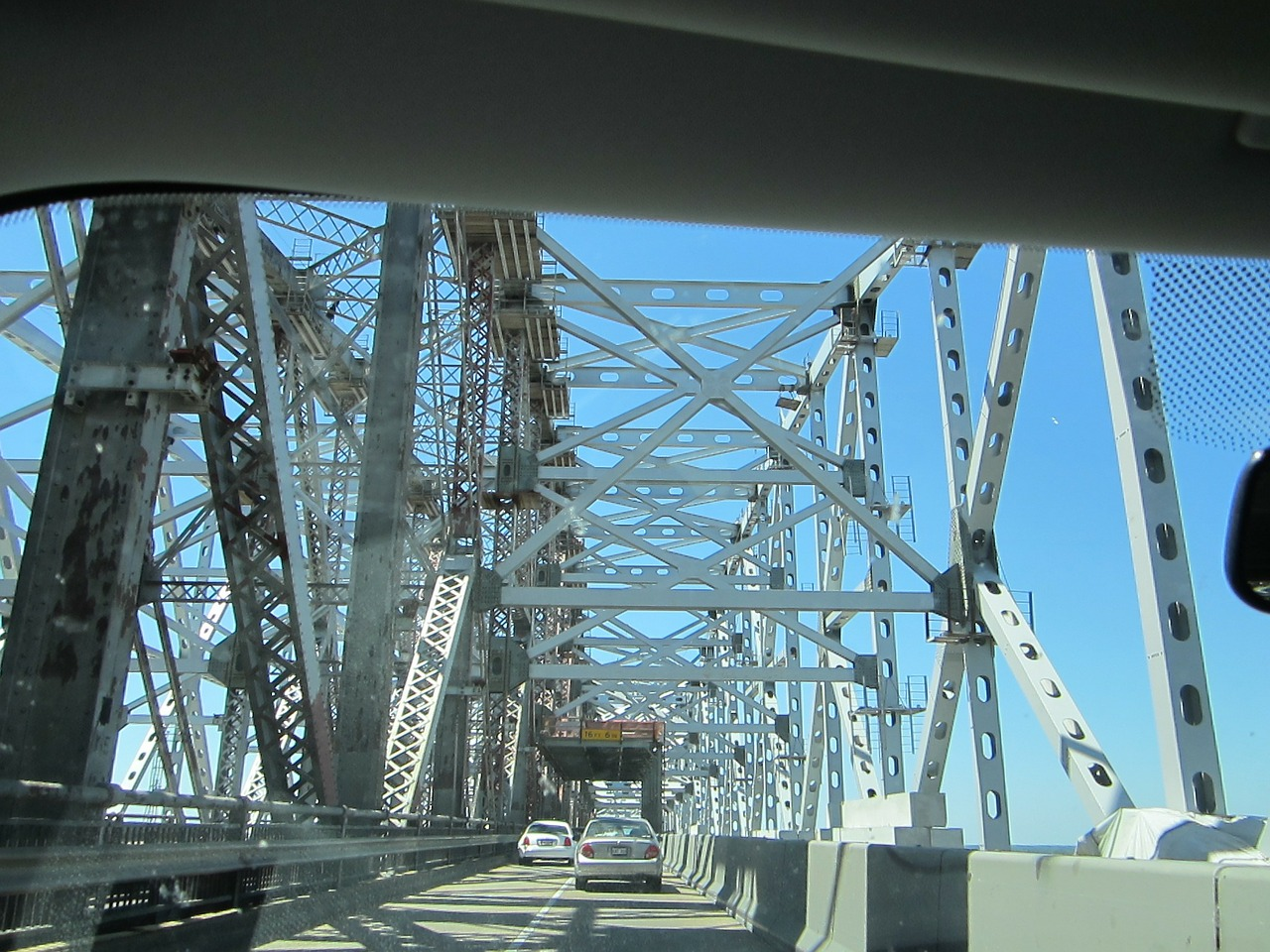 bridge mississippi river new orleans free photo