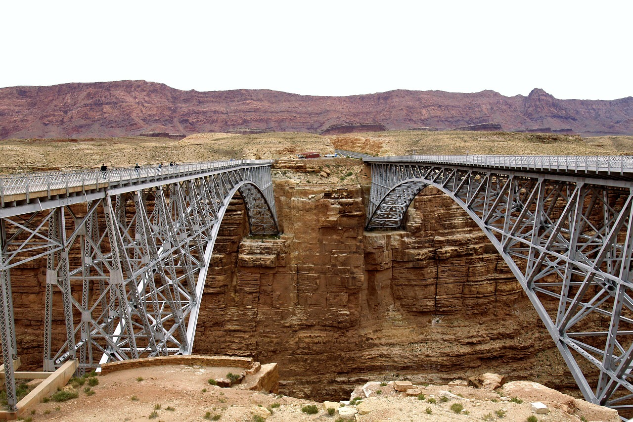 bridges marble canyon arch free photo