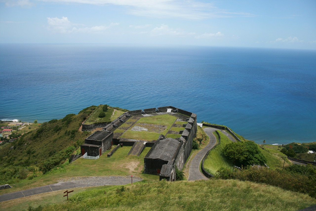 brimstone hill fortres british fort st kitts and navis free photo