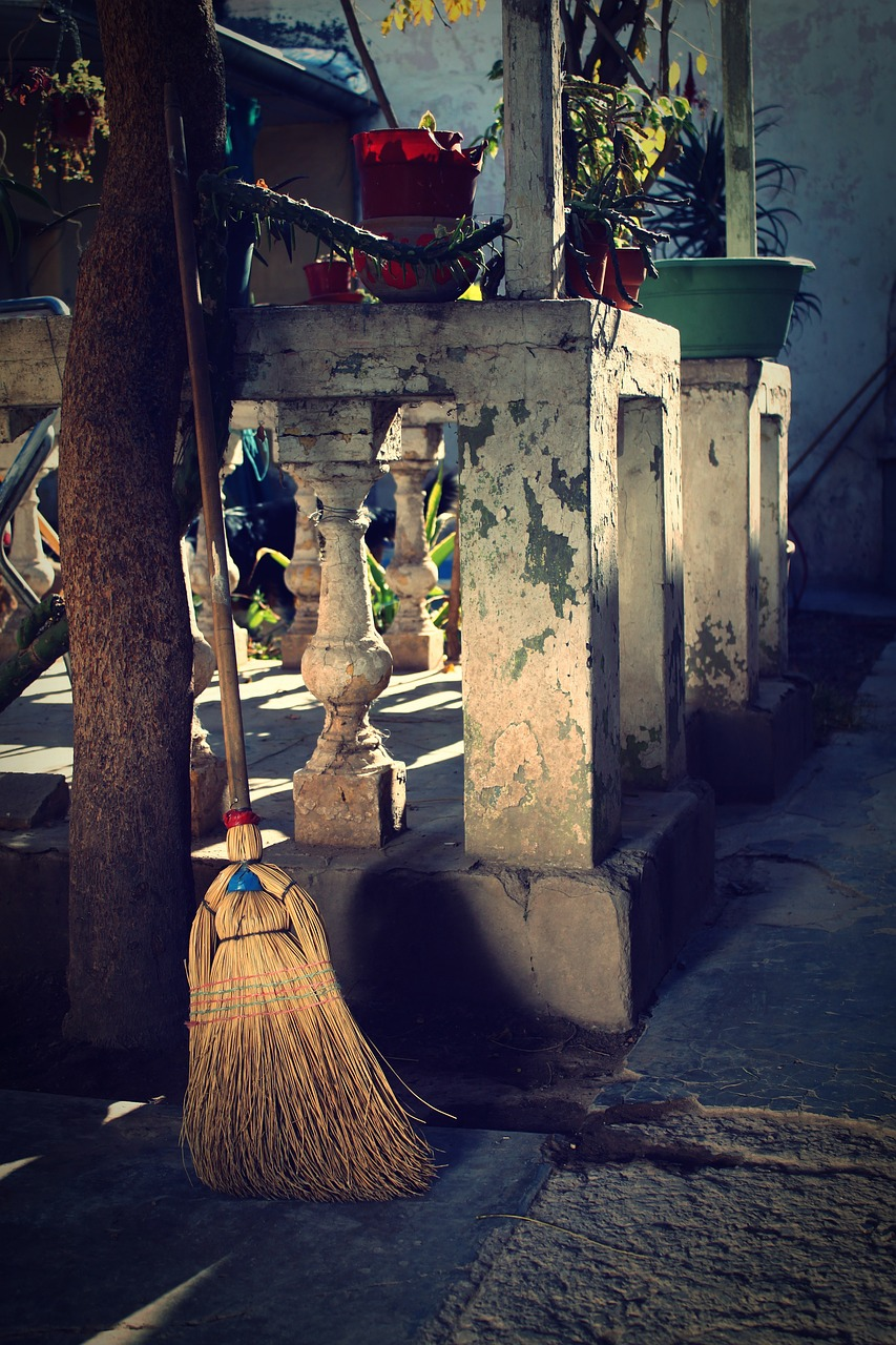 broom old antiques free photo