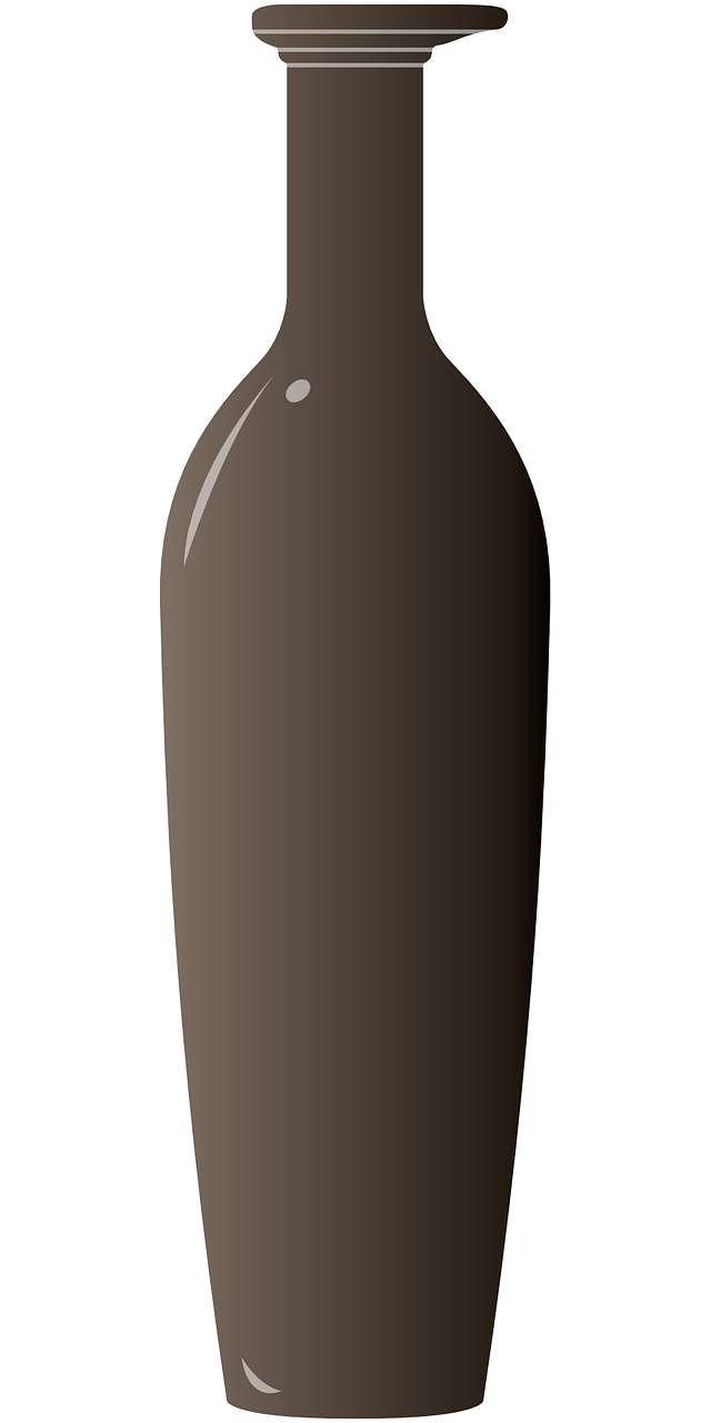 brown glass bottle free photo