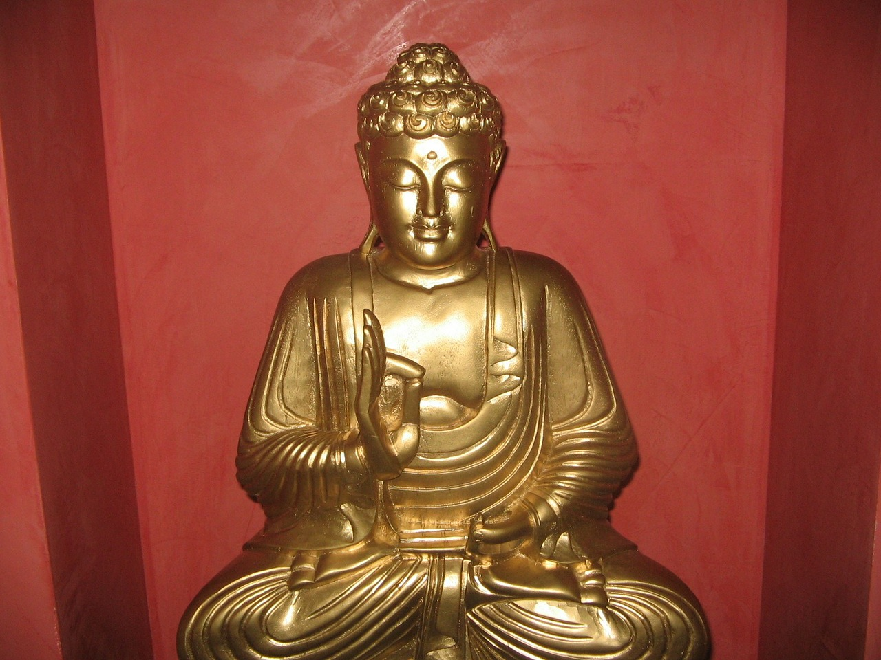 buddha gold statue free picture