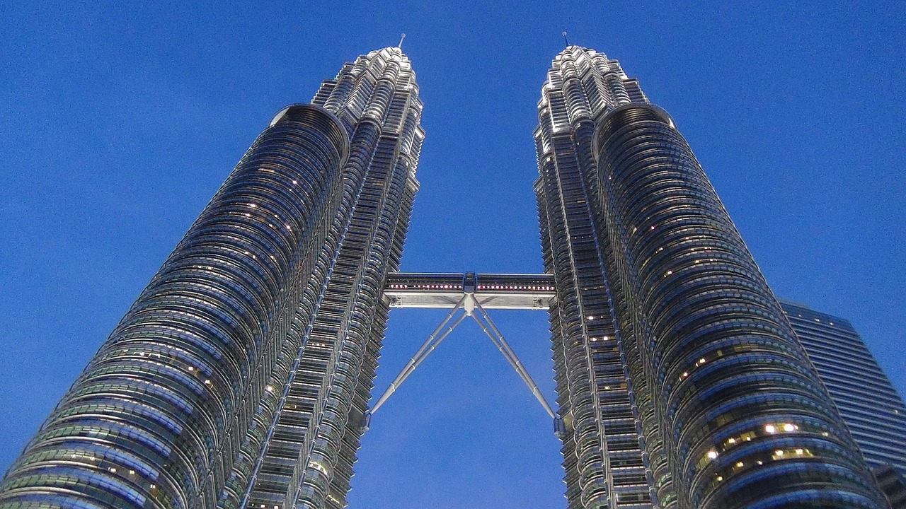 building towers malaysia free photo