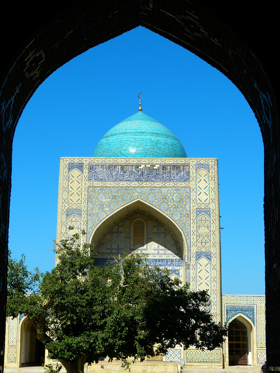bukhara mosque kalon mosque islam free photo