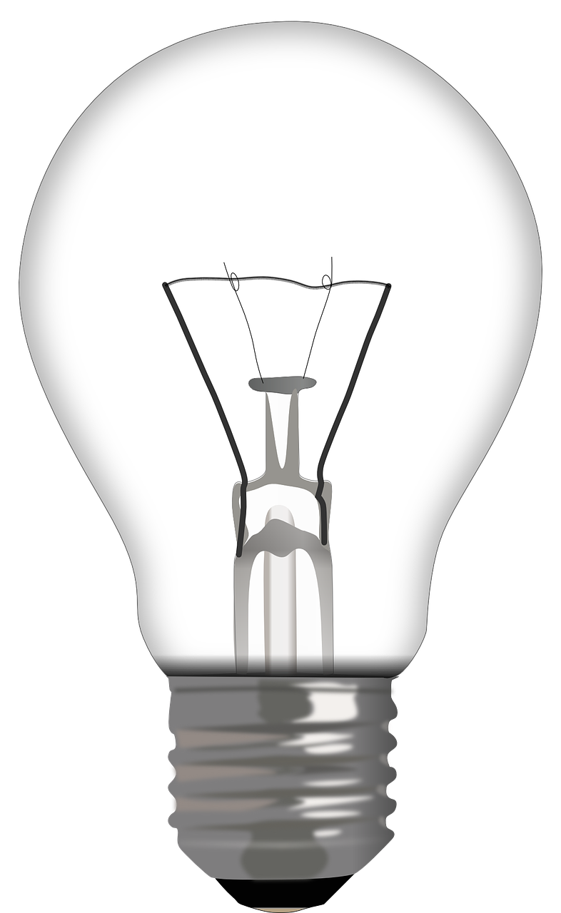bulb light electricity free photo