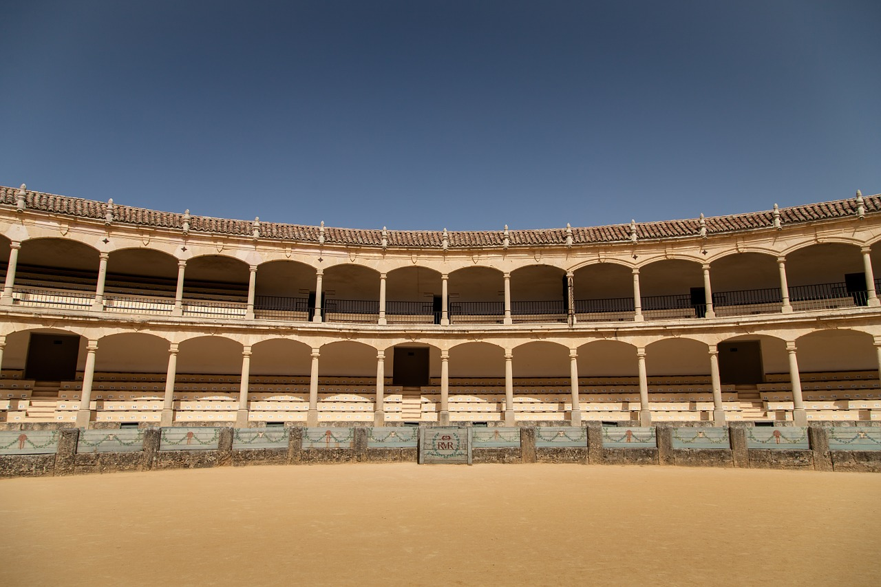 bullfight corrida arena free photo