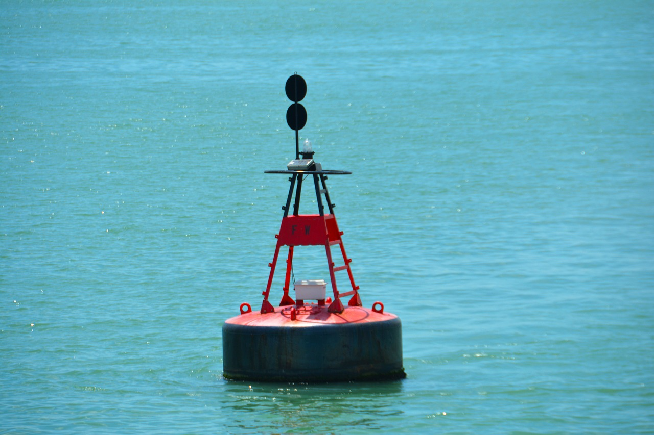 buoy float water free photo