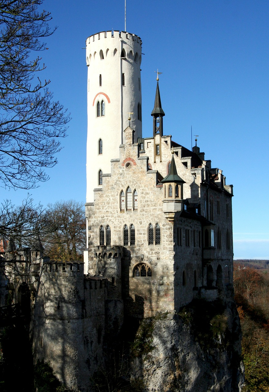 burg lichtenstein castle knight's castle free photo