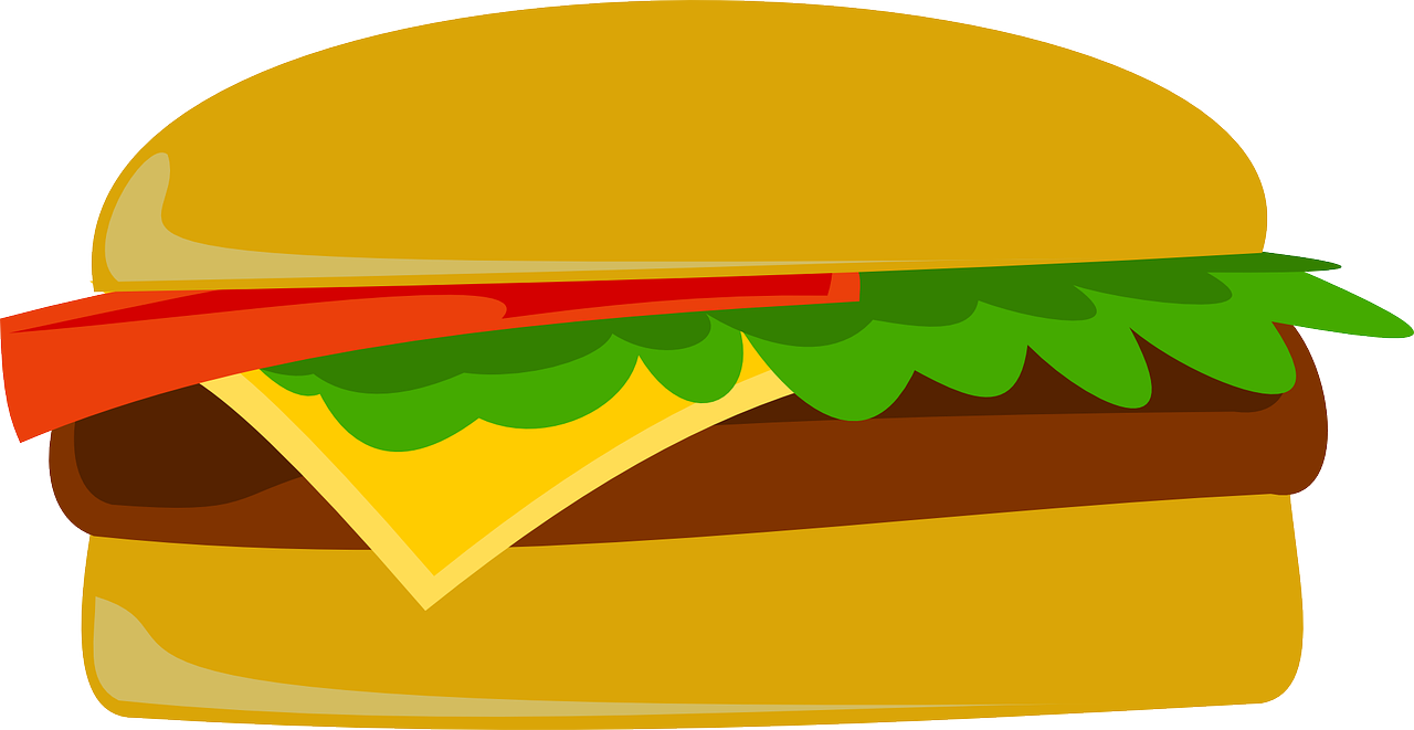 burger,fast food,junk food,mcdonald's,hamburger,cheeseburger,lunch,free vector graphics,free pictures, free photos, free images, royalty free, free illustrations, public domain