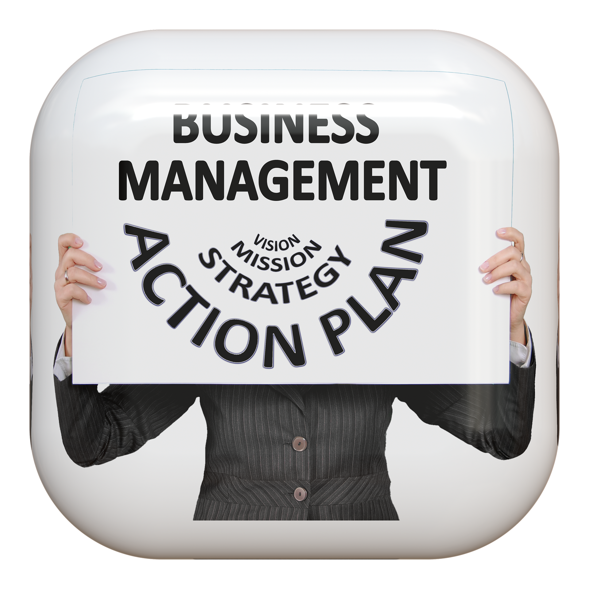 button symbol businesswoman free photo