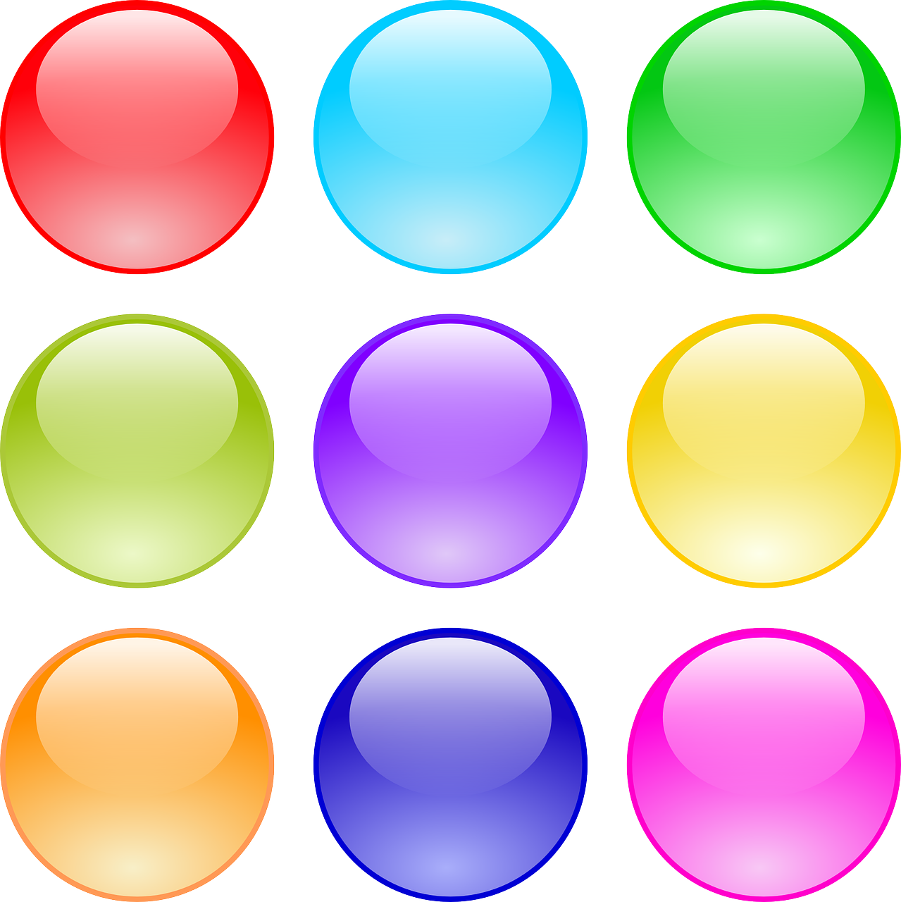 buttons,circle,glossy,gui,round,free vector graphics,free pictures, free photos, free images, royalty free, free illustrations, public domain