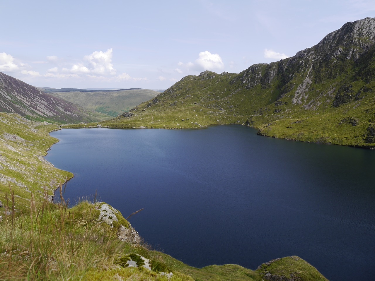 cadair idris wales hiking free photo