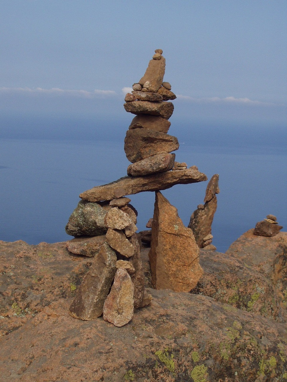 cairn steinmann stones free photo