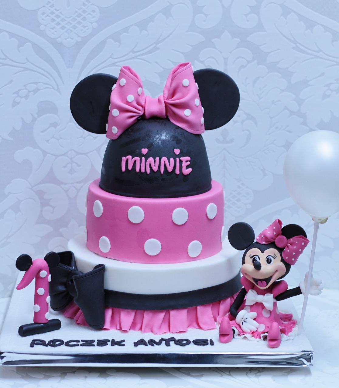 Amazing Cake One Year Old Birthday Decoration Creative Free Image From Personalised Birthday Cards Vishlily Jamesorg