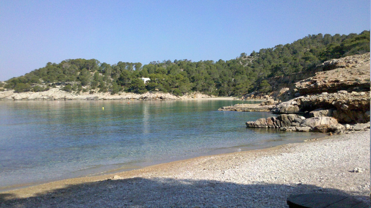 cala saltwater ibiza free photo