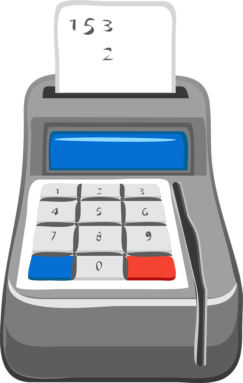 calculator checkout cash register free photo
