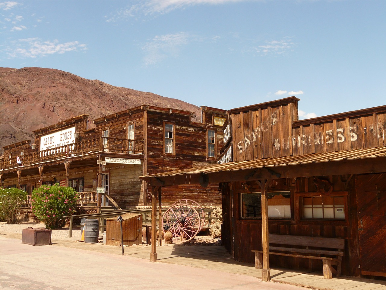 calico calico ghost town ghost town free photo