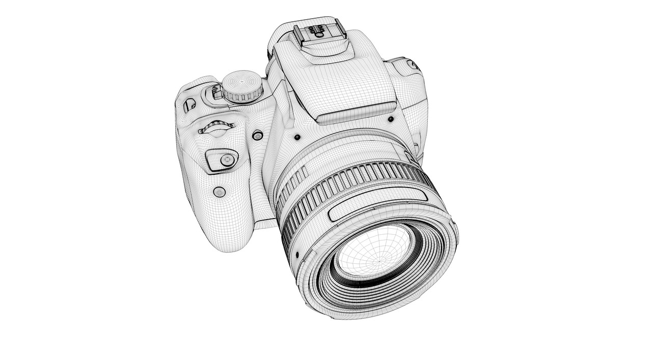 camera canon camera lens free photo
