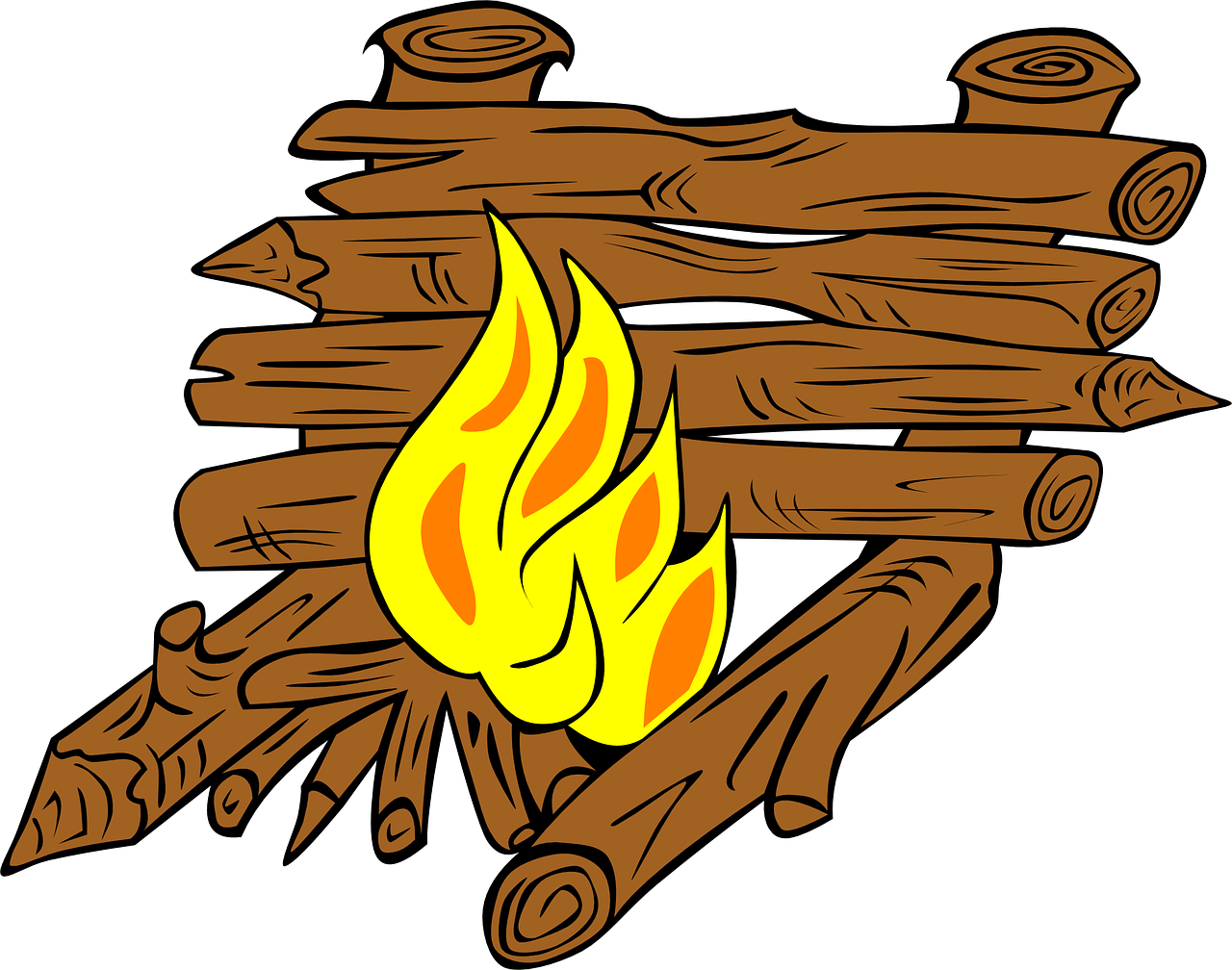 campfire,campfires,fire,outdoor fire,fire pit,cookout,camping,bonfire,firewood,free vector graphics,free pictures, free photos, free images, royalty free, free illustrations, public domain