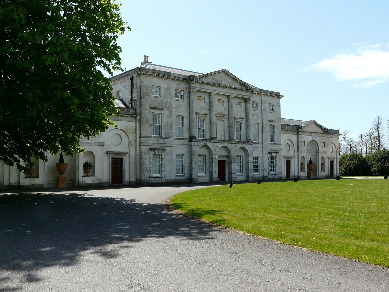 cams hall palladian architecture free photo