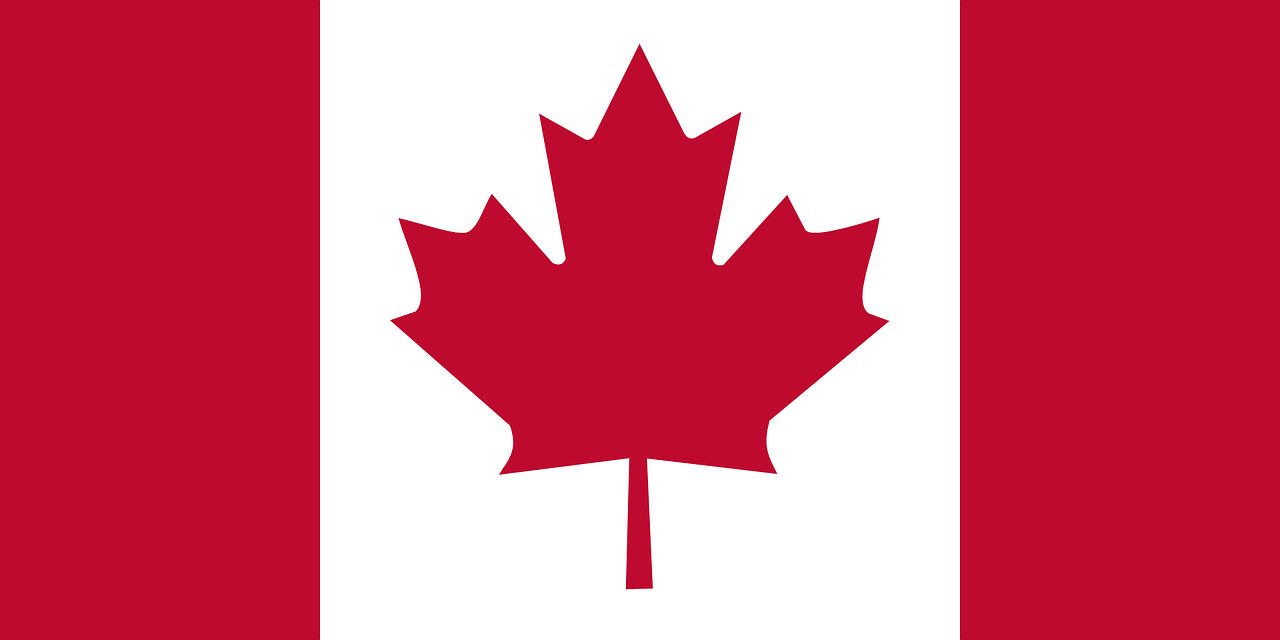 canada flag mape leaf free photo
