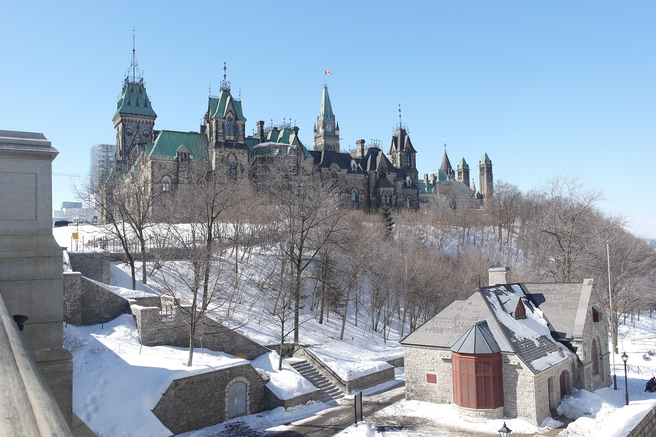 canada ottawa winter free photo