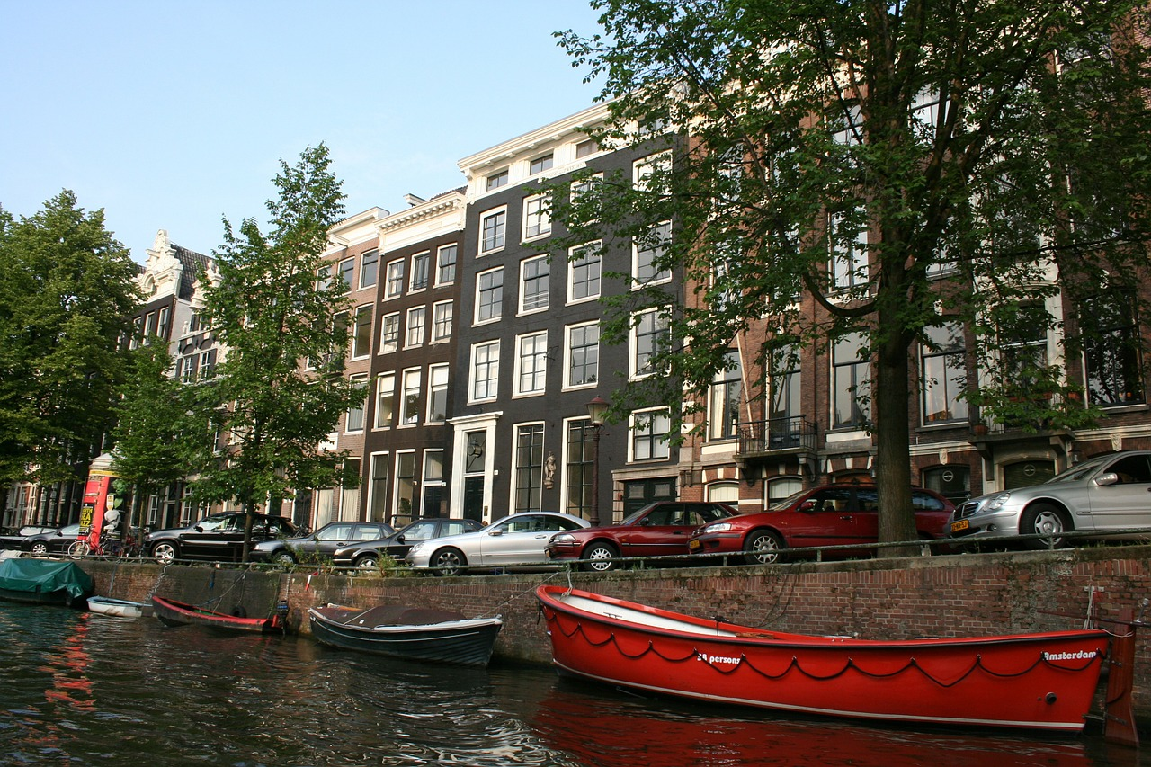 canal amsterdam netherlands free photo