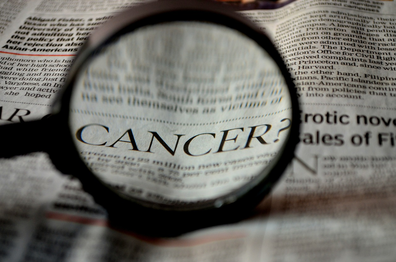 cancer newspaper word free picture