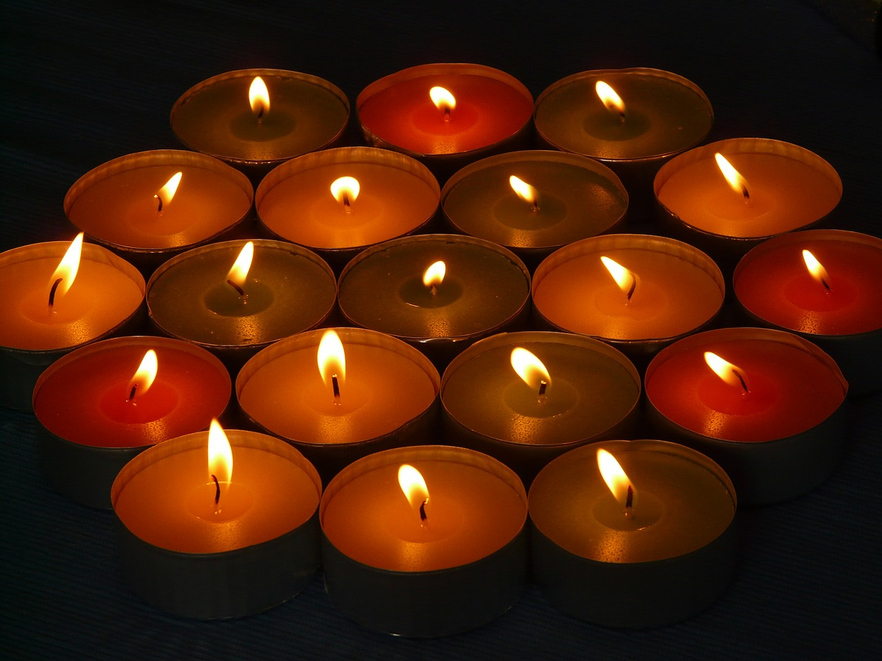 candle candles tealight free photo