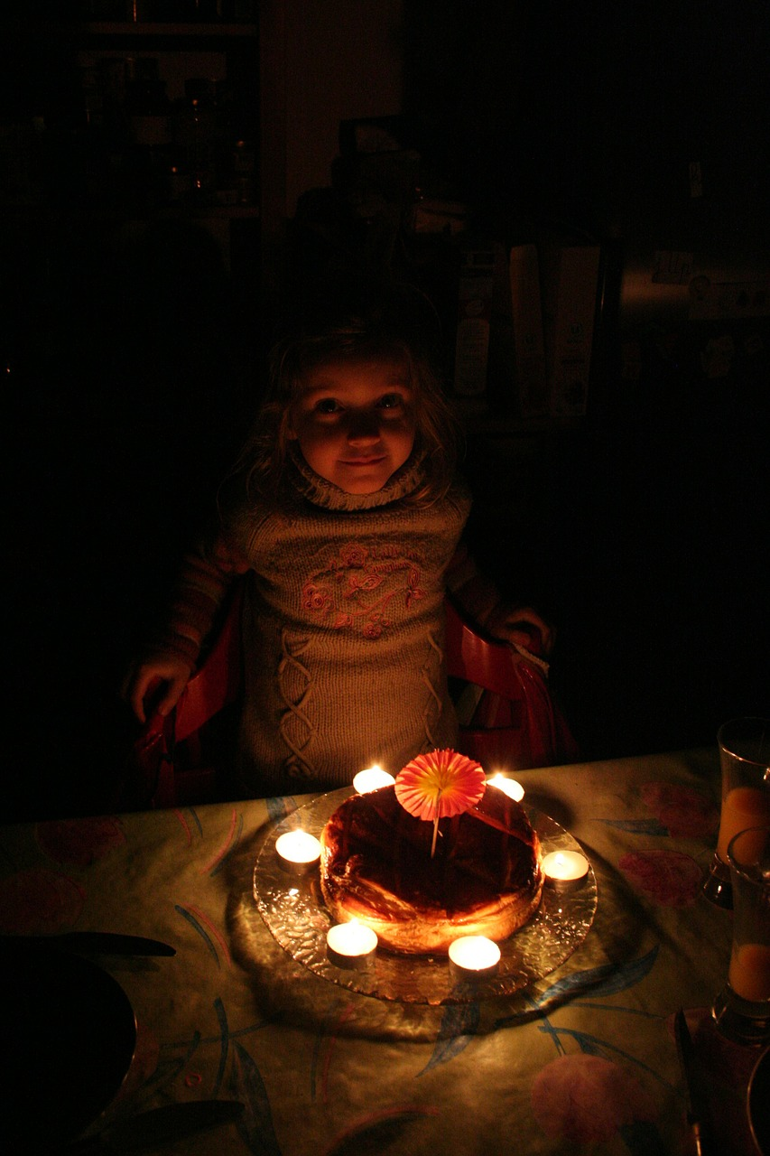 candle flame birthday free photo