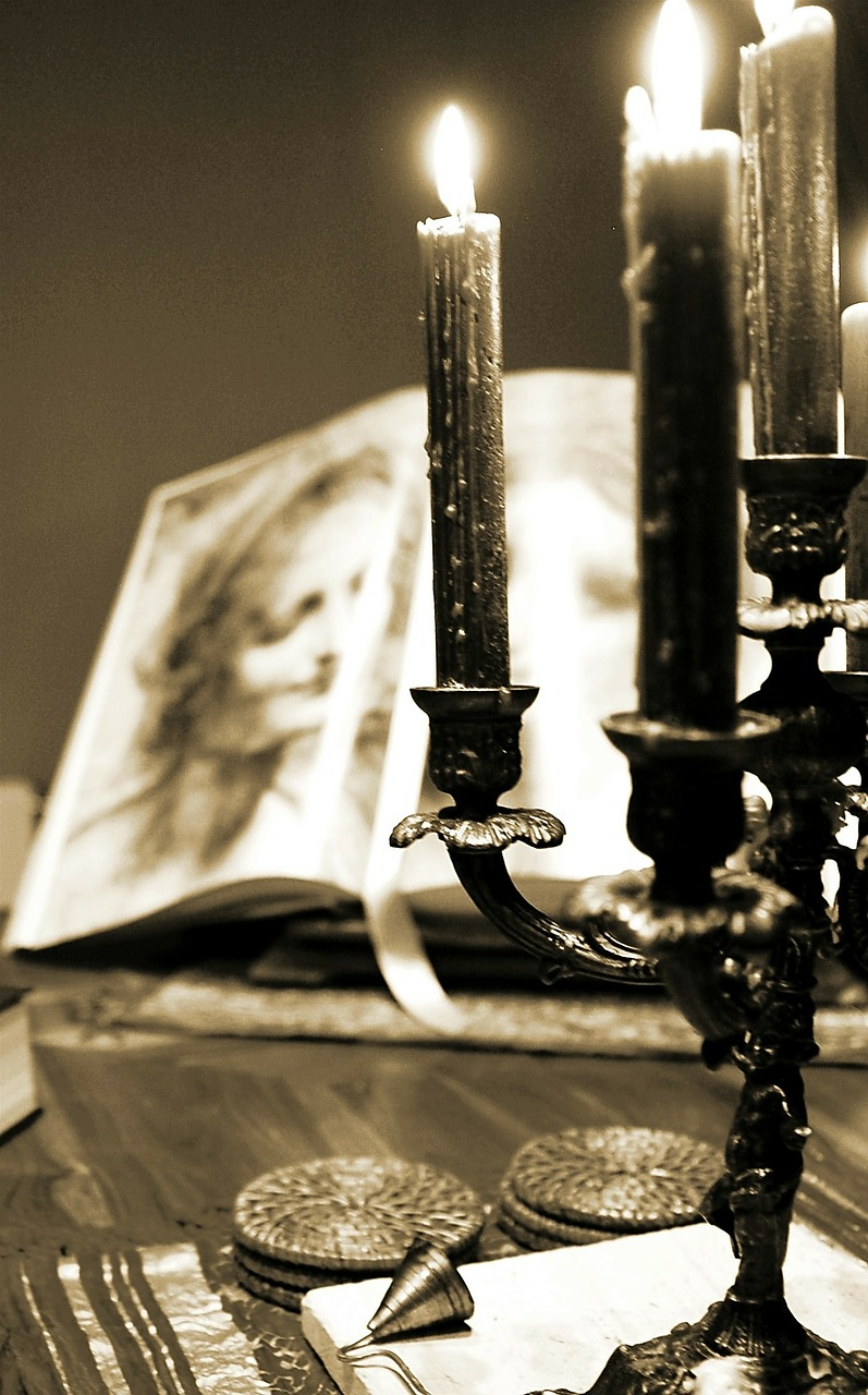 candles candlestick book free photo