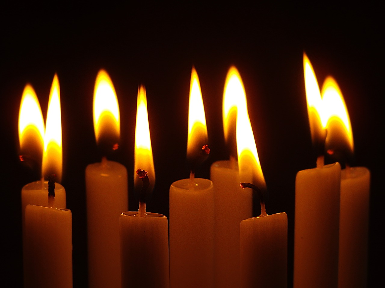 candles candlelight advent free photo