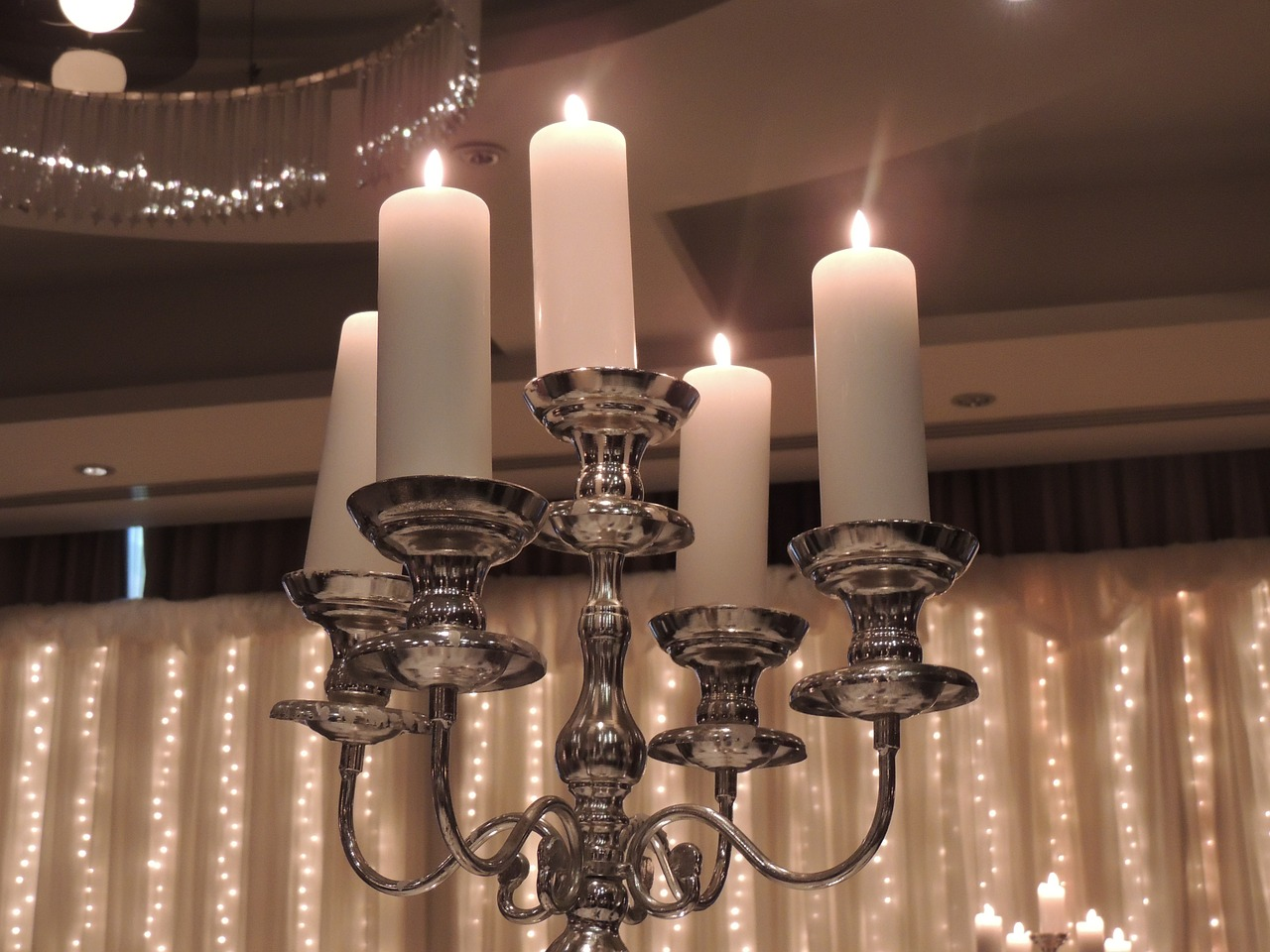 candles,wedding,candelabra,romance,free pictures, free photos, free images, royalty free, free illustrations