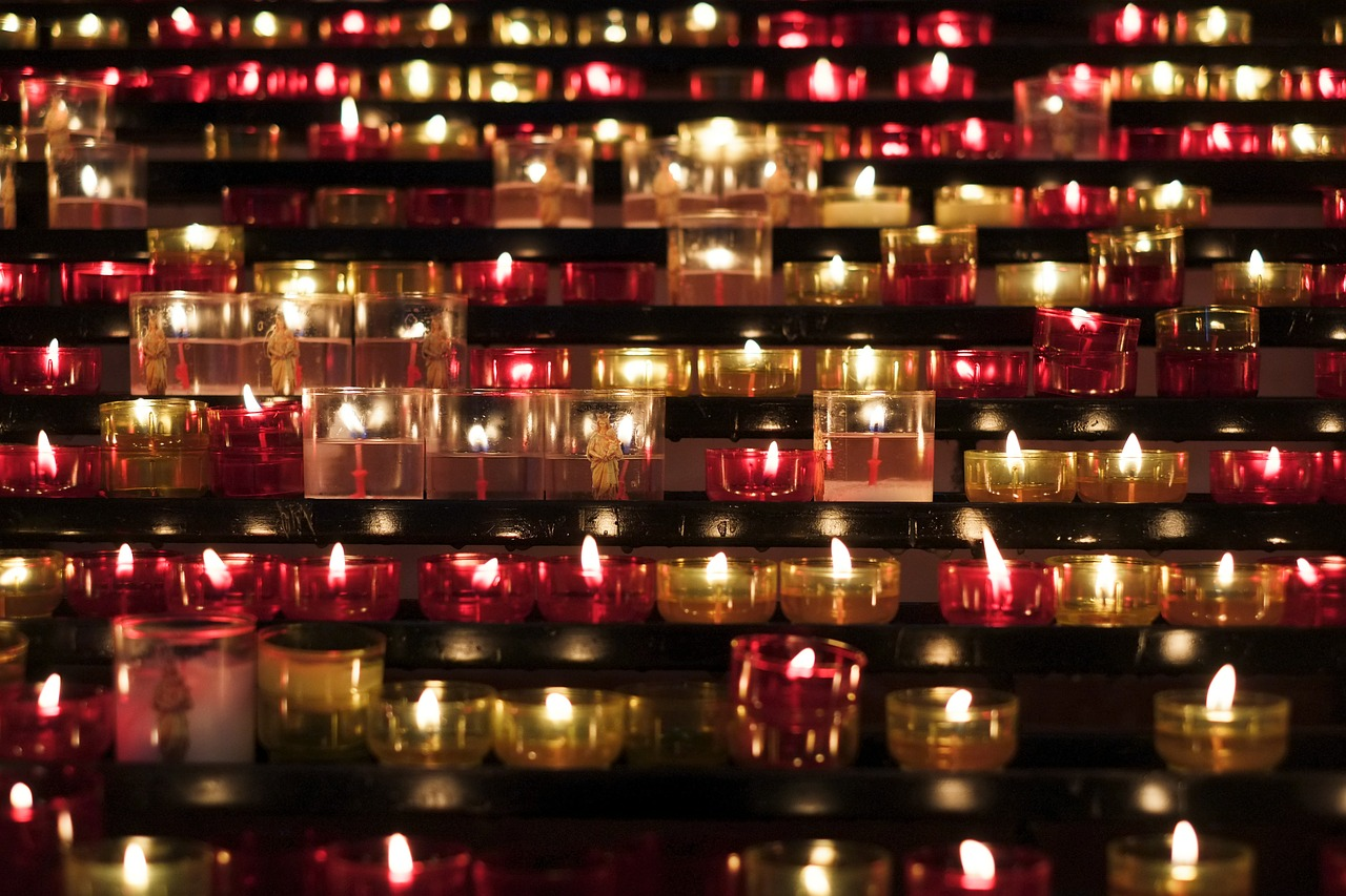 candles church flame free picture