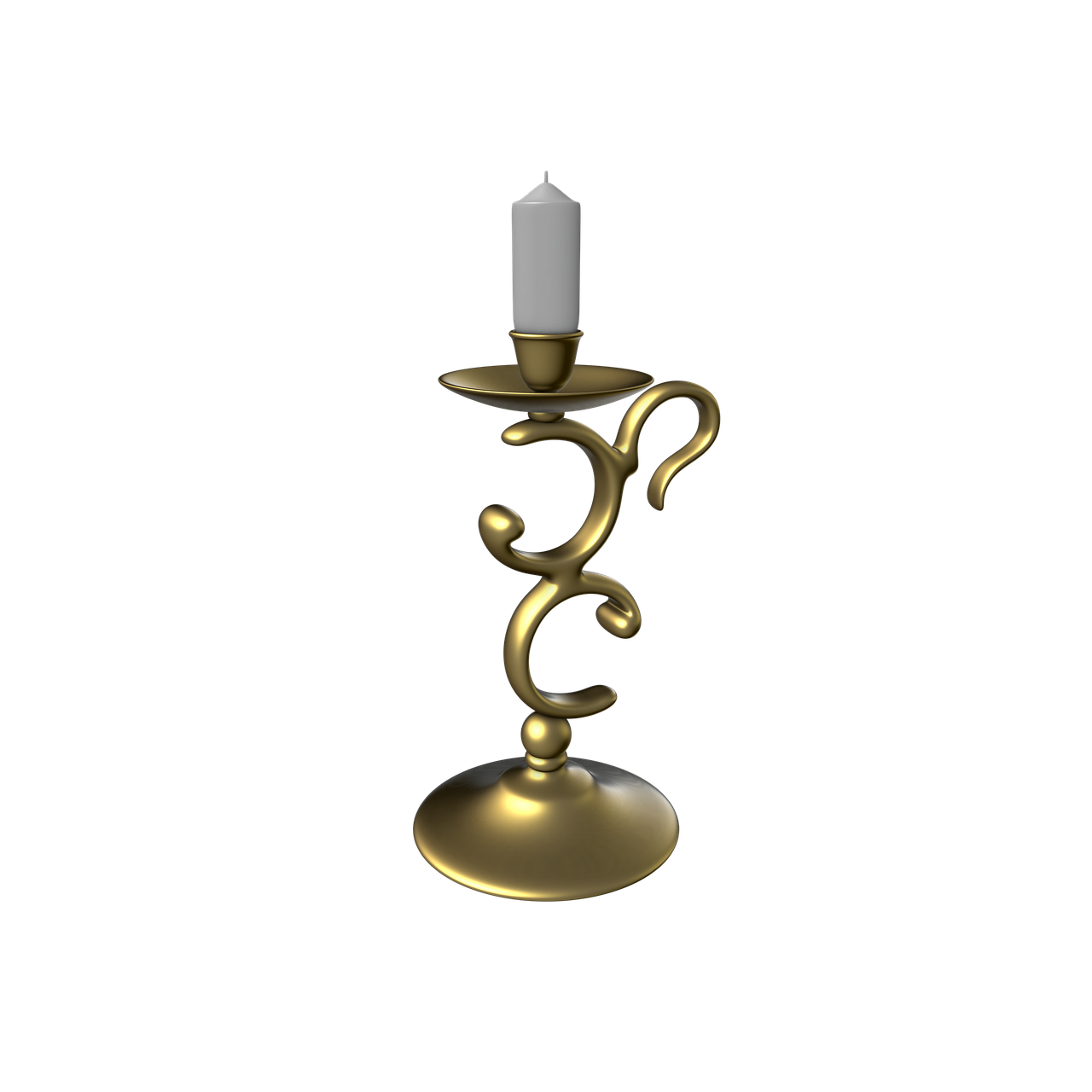 candlestick  candle  transparent background free photo