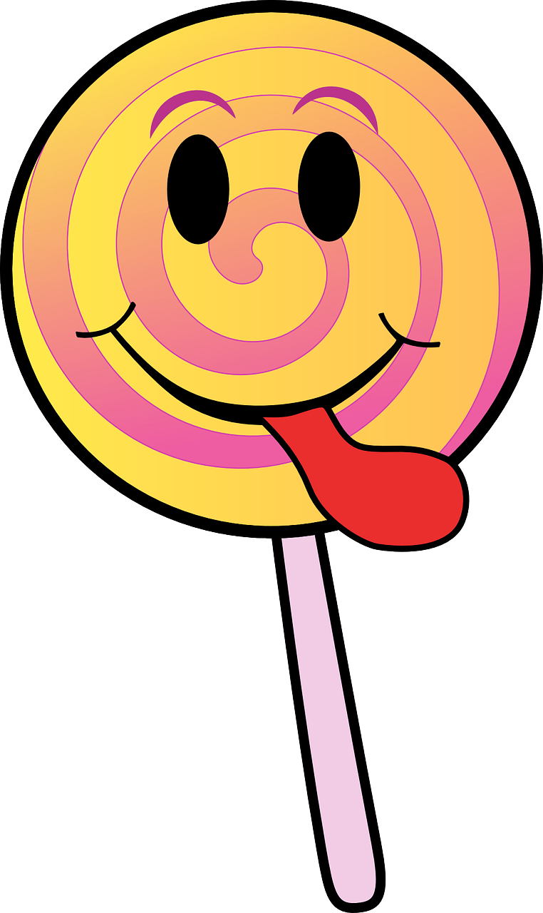 candy lollipop smiley free photo