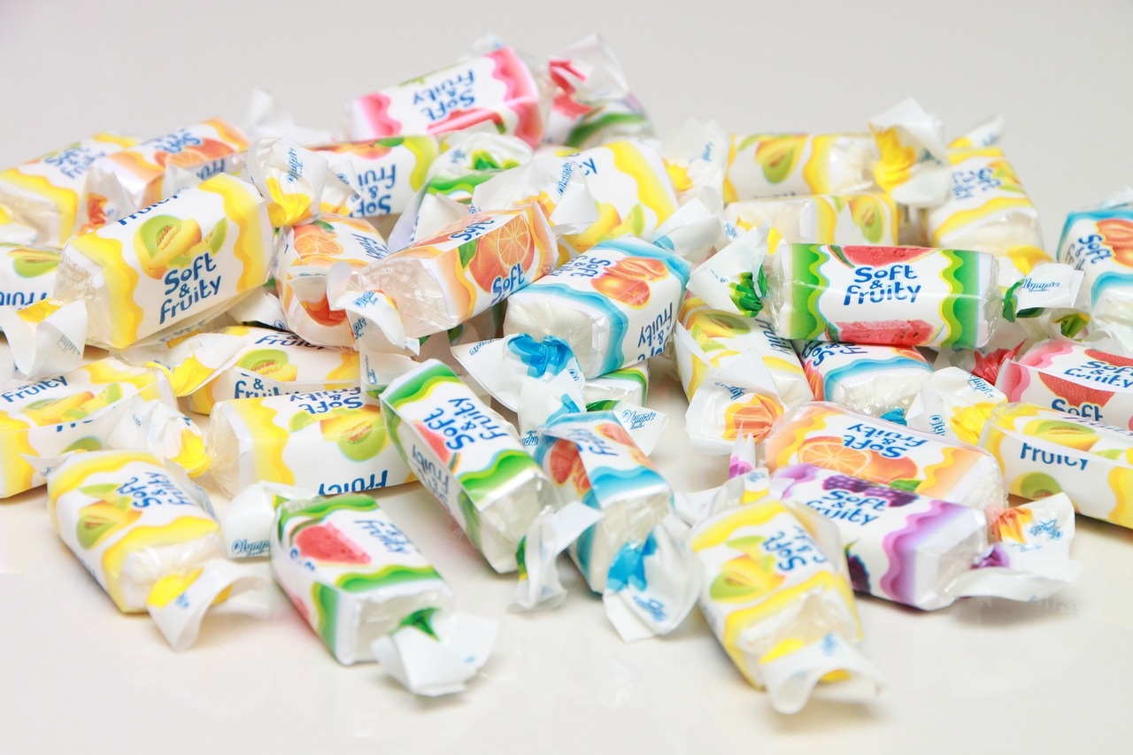 candy chews sweets free photo