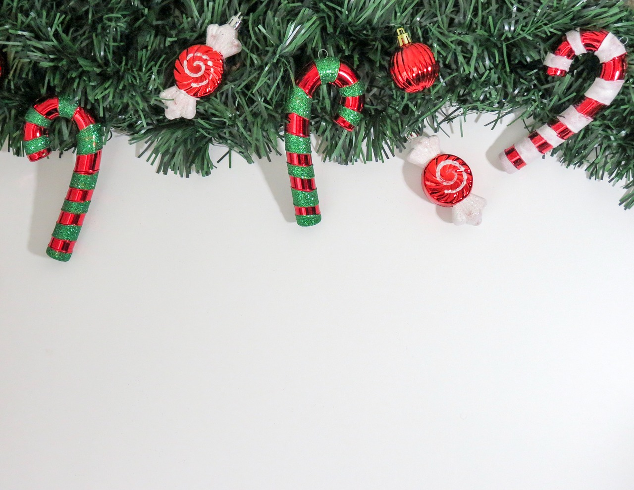 candy cane wreath holiday free photo