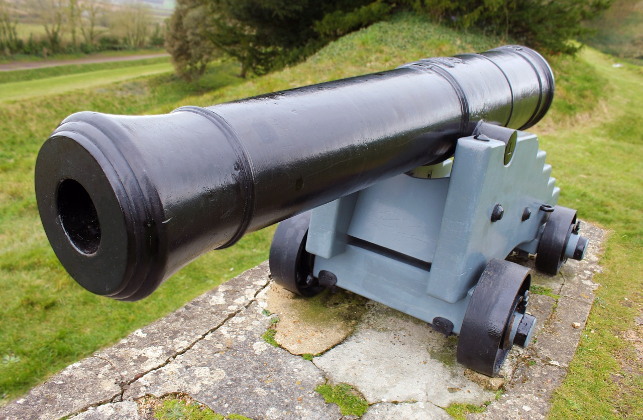 cannon war weapon free photo