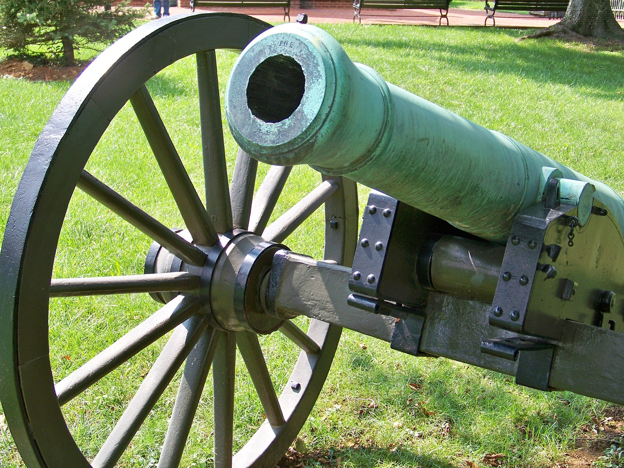 cannon civil war war free photo