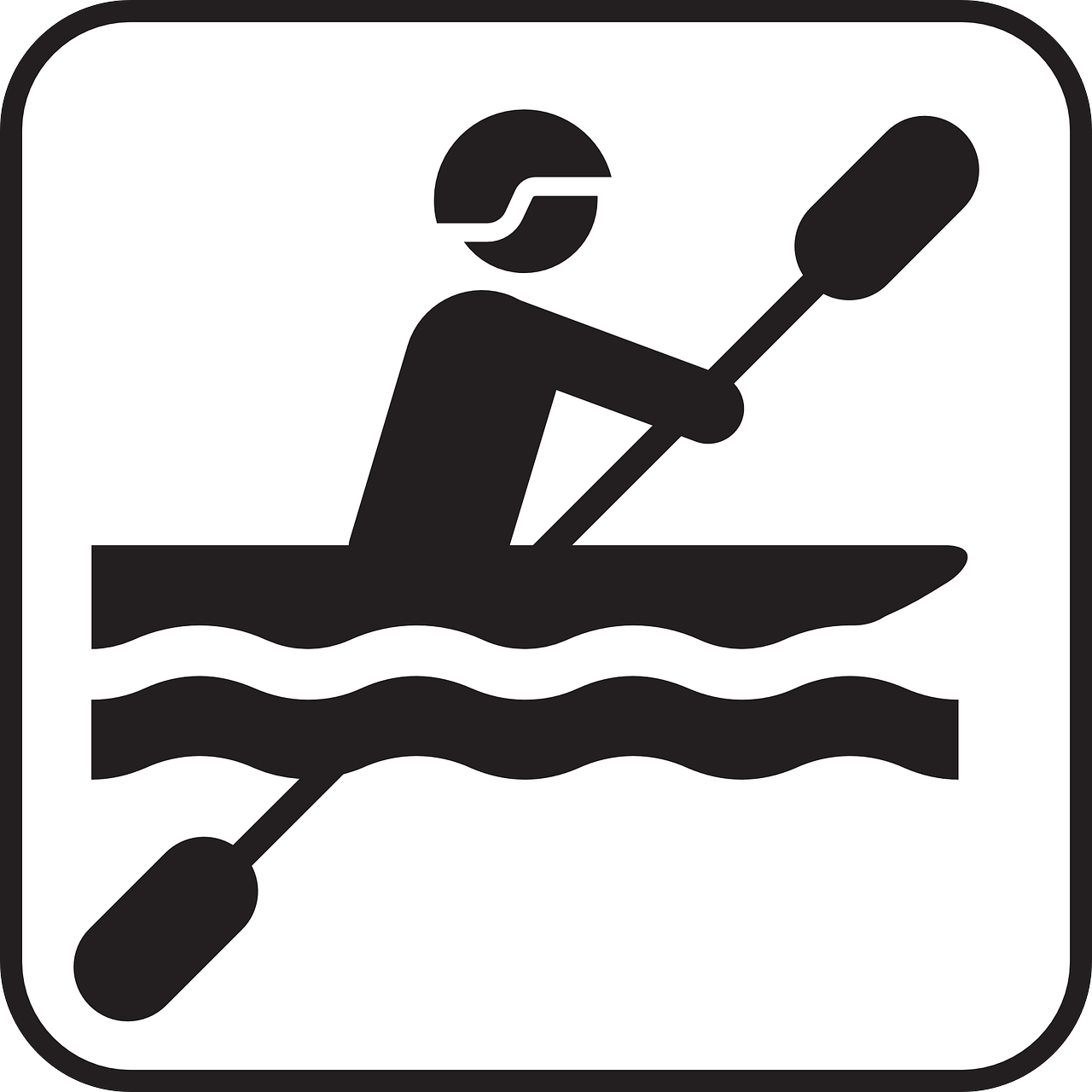 canoeing paddling paddle free photo