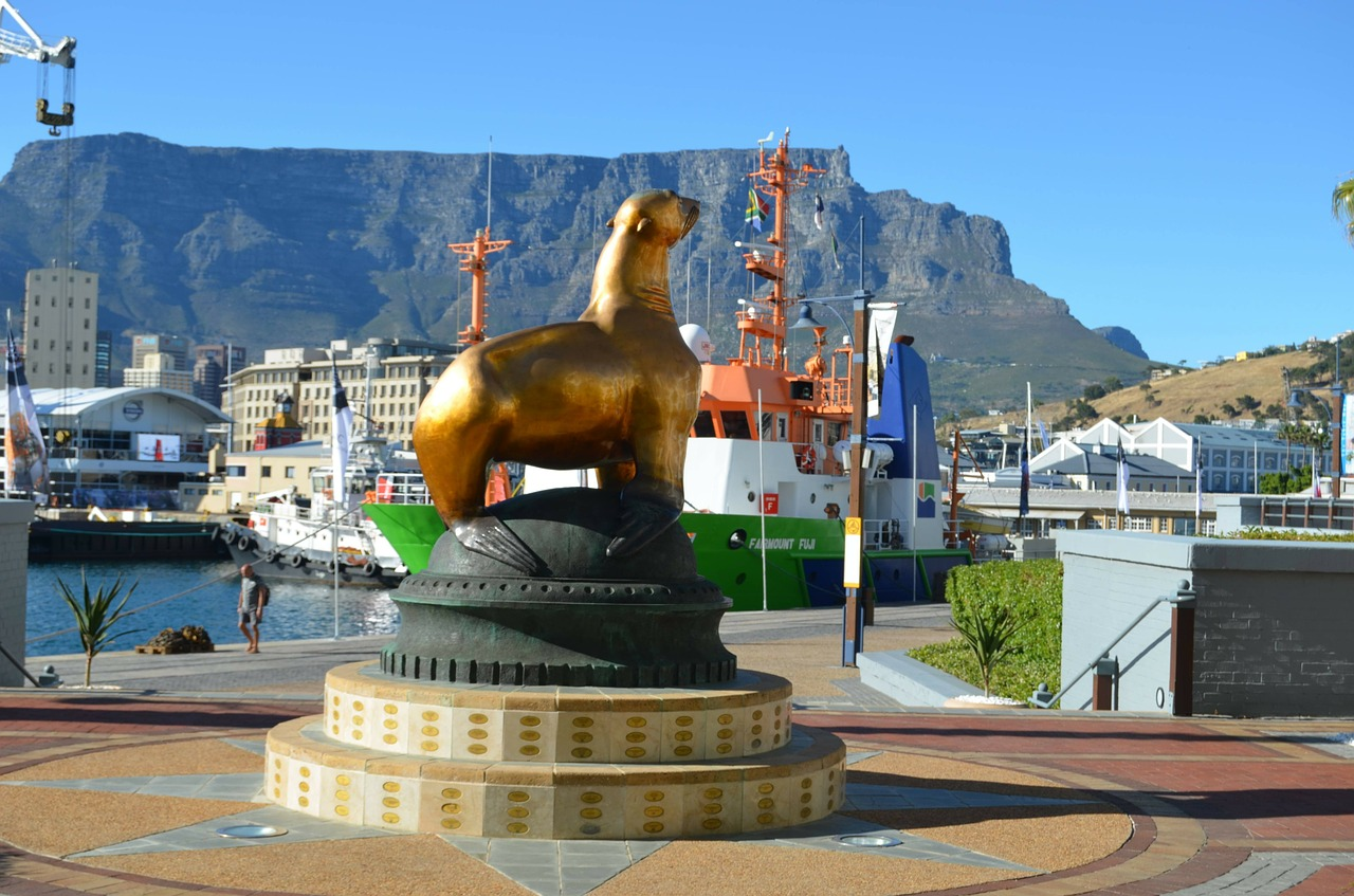 cape town table mountain v a waterfront free photo
