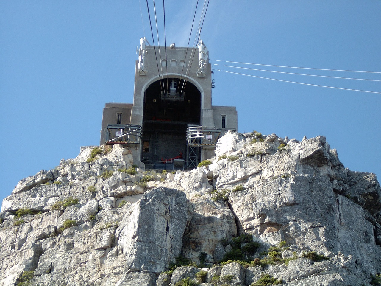 cape town cable car funicular free photo