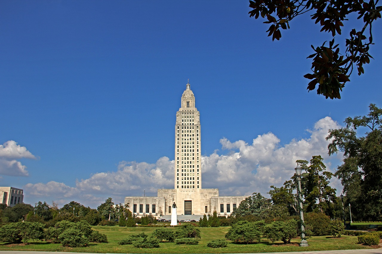 capitol building louisiana free photo