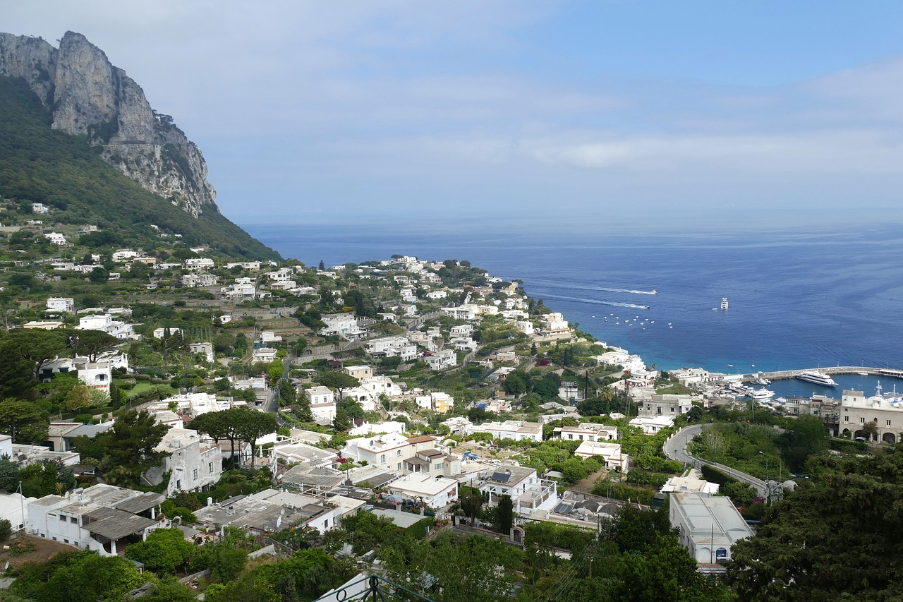 capri  italy  coast free photo