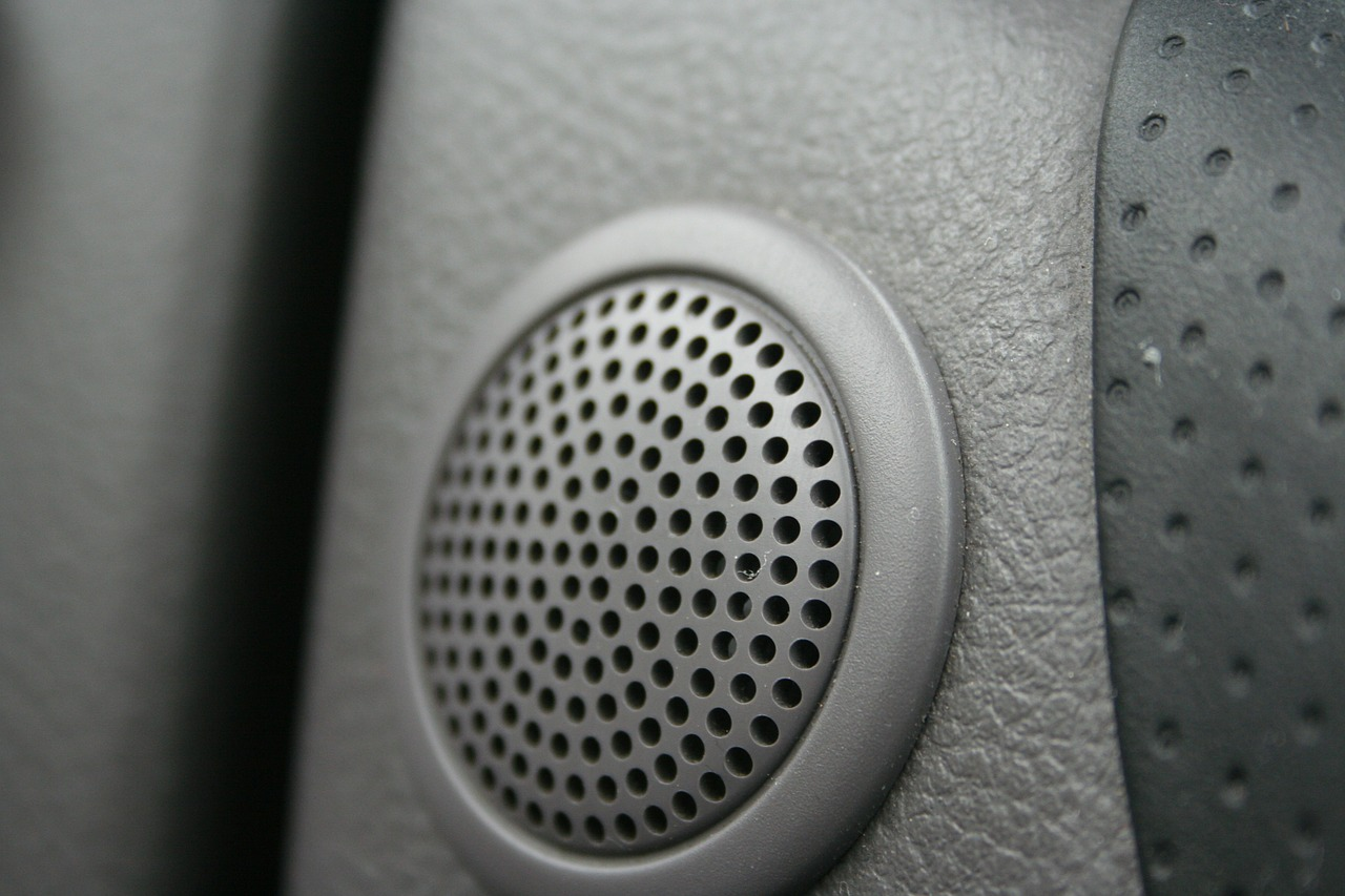 car speaker sound free photo