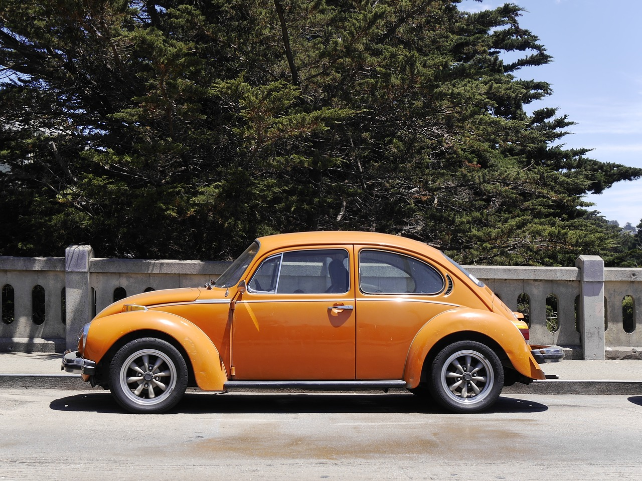 car san francisco volkswagen beetle free picture
