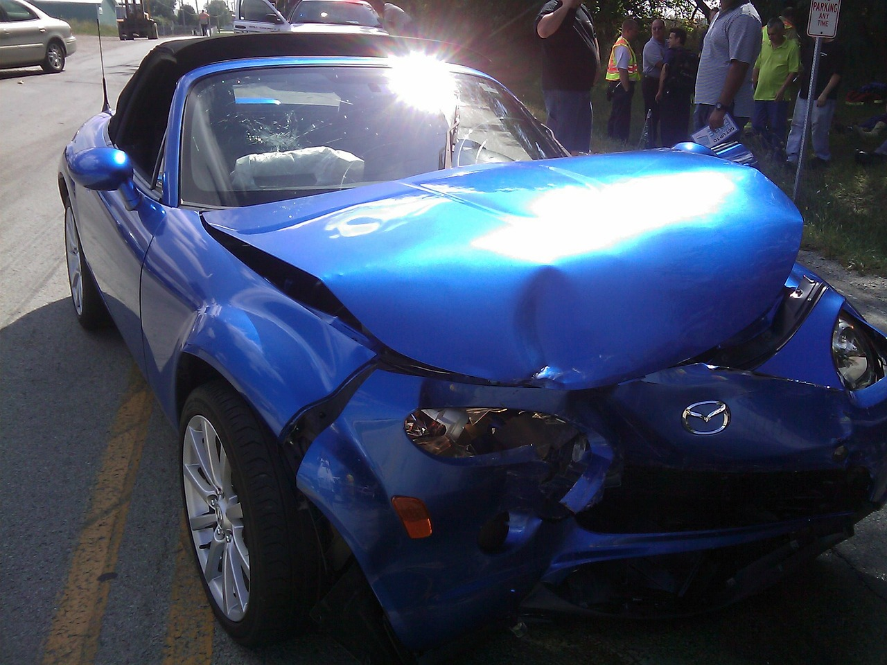 car accident crash free photo