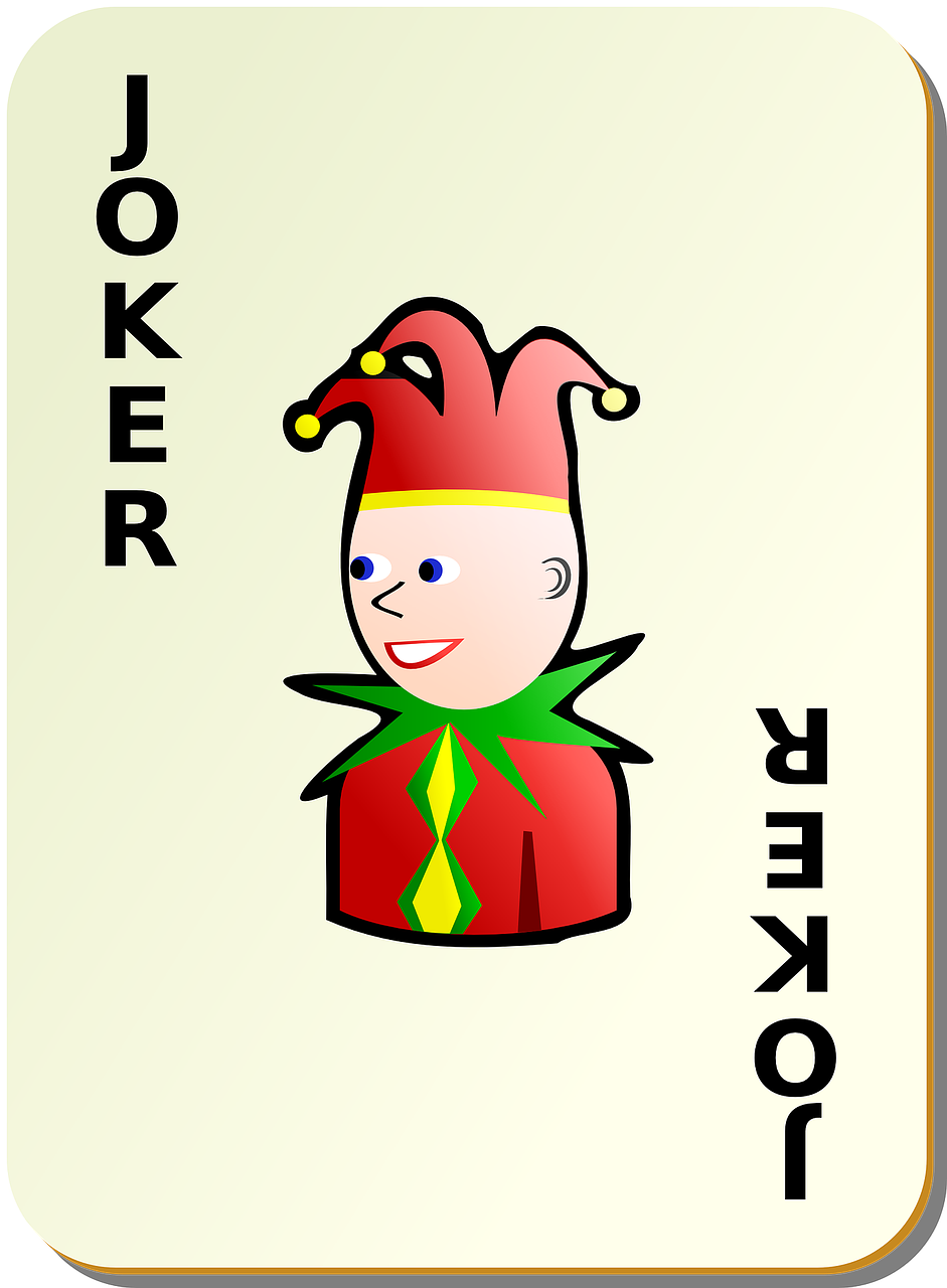 card joker playing cards free photo